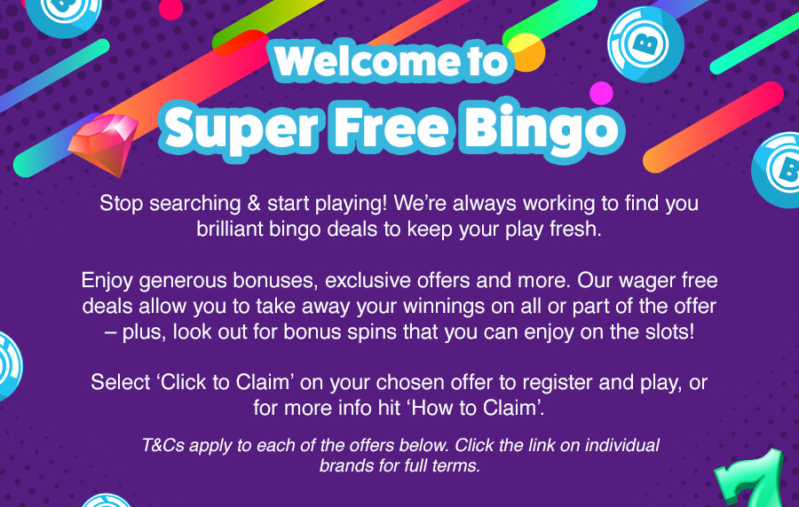 All The Best Free Mobile Bingo Offer